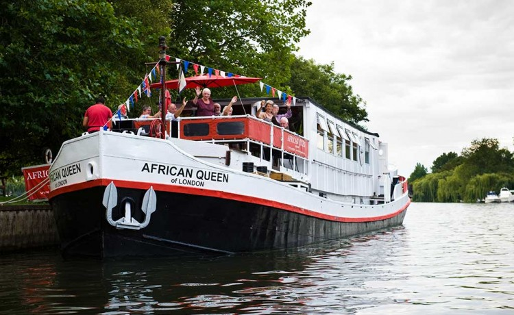 African Queen Thames River Boat Cruises